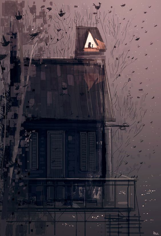 """Insomnia"" Artwork by Pascal Campion"